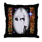 Drag Circa SisterFace 1991 Throw Pillow