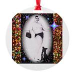 Drag Circa SisterFace 1991 Round Ornament