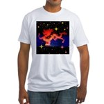 Chinese Lucky Dragon Fitted T-Shirt