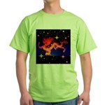 Chinese Lucky Dragon Green T-Shirt