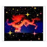 Chinese Lucky Dragon Small Poster