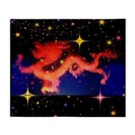 Chinese Lucky Dragon Throw Blanket