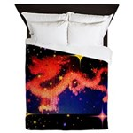 Chinese Lucky Dragon Queen Duvet