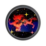 Chinese Lucky Dragon Wall Clock