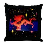 Chinese Lucky Dragon Throw Pillow