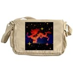 Chinese Lucky Dragon Messenger Bag