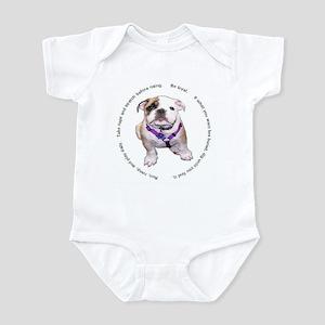 Loyal Bulldog Puppy Infant Bodysuit