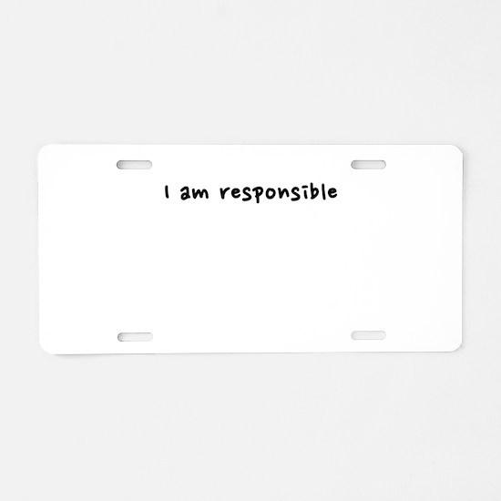 motto2 Aluminum License Plate