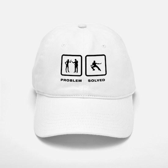 Kung Fu Baseball Baseball Cap