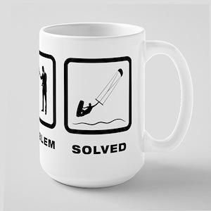 Kitesurfing Large Mug