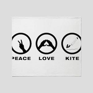 Kitesurfing Throw Blanket
