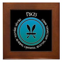 Pisces Framed Tile
