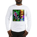 Hawaiian FireCracker Heliconia Long Sleeve T-Shirt