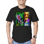 Hawaiian FireCracker Heliconia Men's Fitted T-Shir