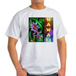 Hawaiian FireCracker Heliconia Light T-Shirt