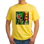 Hawaiian FireCracker Heliconia Yellow T-Shirt
