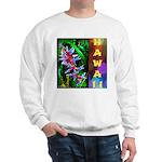 Hawaiian FireCracker Heliconia Sweatshirt