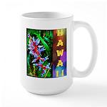 Hawaiian FireCracker Heliconia Large Mug