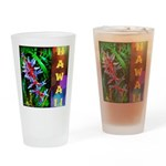 Hawaiian FireCracker Heliconia Drinking Glass