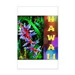 Hawaiian FireCracker Heliconia Mini Poster Print