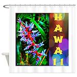 Hawaiian FireCracker Heliconia Shower Curtain
