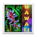 Hawaiian FireCracker Heliconia Tile Coaster