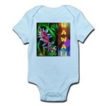 Hawaiian FireCracker Heliconia Infant Bodysuit