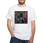Neon Drag Diva White T-Shirt