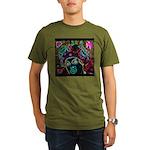 Neon Drag Diva Organic Men's T-Shirt (dark)