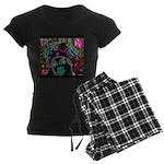 Neon Drag Diva Women's Dark Pajamas