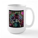 Neon Drag Diva Large Mug
