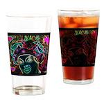 Neon Drag Diva Drinking Glass