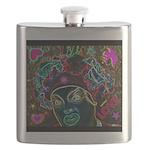 Neon Drag Diva Flask