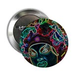 """Neon Drag Diva 2.25"""" Button (100 pack)"""
