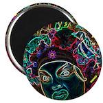 """Neon Drag Diva 2.25"""" Magnet (10 pack)"""