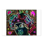 Neon Drag Diva Postcards (Package of 8)