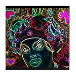 Neon Drag Diva Tile Coaster
