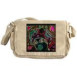 Neon Drag Diva Messenger Bag