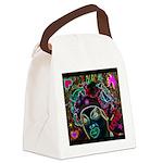 Neon Drag Diva Canvas Lunch Bag