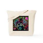 Neon Drag Diva Tote Bag