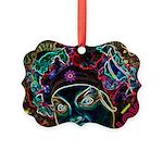 Neon Drag Diva Picture Ornament