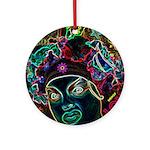 Neon Drag Diva Ornament (Round)
