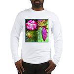Native Hawaii's Tropical Flora Long Sleeve T-Shirt