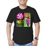 Native Hawaii's Tropical Flora Men's Fitted T-Shir
