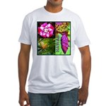 Native Hawaii's Tropical Flora Fitted T-Shirt