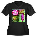 Native Hawaii's Tropical Flora Women's Plus Size V