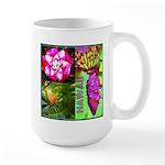 Native Hawaii's Tropical Flora Large Mug