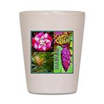 Native Hawaii's Tropical Flora Shot Glass