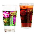 Native Hawaii's Tropical Flora Drinking Glass