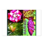 Native Hawaii's Tropical Flora Postcards (Package